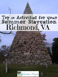 10 great places to visit in Richmond, VA that are free or inexpensive. Staycations in Richmond are the best!