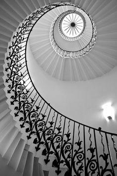 Des escaliers chics
