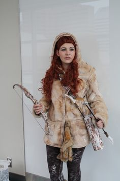 Ygritte from Game of Thrones Cosplay http://geekxgirls.com/article.php?ID=6334