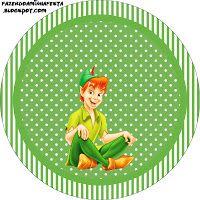 """Imprimés Thème """"Peter-Pan"""" : http://fazendoanossafesta.com.br/2013/07/peter-pan-kit-completo-com-molduras-para-convites-rotulos-para-guloseimas-lembrancinhas-e-imagens.html/"""