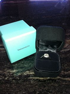 Tiffany's Legacy engagement ring