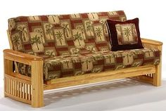 Tropical Futon Covers Coastal Night And Day Furniture