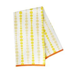 Here's a pair of tea towels that would delight even the iciest of domestic goddesses. The towel's perky, geometric illustrations are inspired by mid-century straw designs and would look great slung ove...  Find the Mid-Century Dots Tea Towels - Set of 2, as seen in the Towels Collection at http://dotandbo.com/category/kitchen-and-dining/linens/towels?utm_source=pinterest&utm_medium=organic&db_sku=FSH0017
