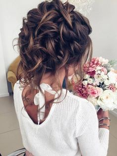 Half-updo, Braids, Chongos Updo Wedding Hairstyles / www.deerpearlflow… Half-updo, Braids, Chongos Updo Wedding Hairstyles / www. Wedding Hair And Makeup, Wedding Updo, Hair Makeup, Chic Wedding, Elegant Wedding, Trendy Wedding, Bridal Updo, Prom Hair Updo Elegant, Prom Updo