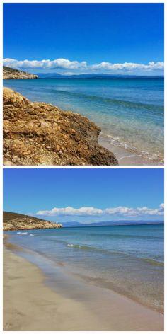 Spiaggia Coaquaddus Isola di Sant'Antioco Sud Ovest della Sardegna