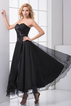 newest sweetheart sleeveless prom dress 2016 balck mistry evening gown