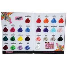 crazy colour chart - Crazy Color Nuancier