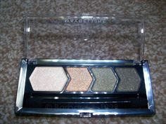 #Review @Maybelline Eye Studio Silky Glam Quad in 'Bronze Drama'