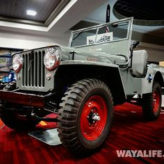 1948 Willys CJ-2A photo credit #sema2014 @wayalife good lord I love this Jeep! olllllo