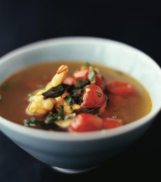 This hot and sour tomato broth with shrimp is quite a light soup and filled with the flavours of fenugreek, asafetida, jaggery, and black mustard. @nigellalawson @padmalakshmi @hachettebookgroup #tangytarthotsweet #hotandsourbroth #padmalakshmi #indianfood Hot And Sour Broth, Indian Soup, Light Soups, Madras Curry, Indian Food Recipes, Ethnic Recipes, Shrimp Recipes, Other Recipes