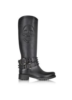 Philipp Plein  After You Black Rubber Boot
