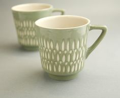Ceramic stoneware cup coffee tea mug  unique by imkadesign on Etsy, $30.00