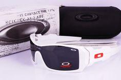 fake oakleys oil rig white sunglasses wholesale $12.58