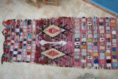 Authentic Maroccan carpet 85x205 cm ref IH16-02