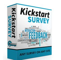 Kickstart Survey Review – A Unique Ways To Easily Create, Customize And Overlay Highly Professional Surveys On Any Website