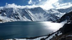 Embalse el Yeso - Cajón del Maipo Turquoise Water, Chile, Ocean Beach, Patagonia, Mount Everest, Beautiful Places, Adventure, Mountains, Travel