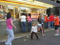Page's Dairy Mart, Carson St., Pittsburgh, PA. The only place you should even THINK about going for cool treats during the summer.