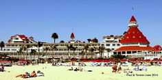 Hotel Del Coronado offers its guests one of the most beautiful beachfronts in the world!  Guests can expect to get a gorgeous tan just a few yards away from their suite!