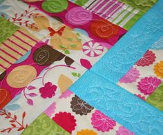 Not exactly a pattern, but a great tutorial on Quilt-As-You-Go Quilting.  This will make quilting larger quilts at home much easier!