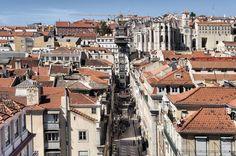 Lisboa - Baixa #Lisboa #Baixa The Neighbourhood, Street View, Modern, Lisbon, The Neighborhood