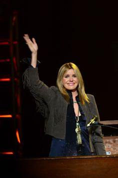 grace potter    Love For Levon Benefit Concert- She was in tears after singing I shall be Released. I cried! It was amazing!