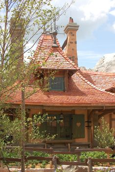 Maurice's Cottage in New Fantasyland at Magic Kingdom Park - Can't wait for this expansion to open!! Beauty and the Beast is my favorite movie and the detail they put into bringing this to life just looks amazing.