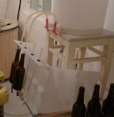 DIY Simple semi automated bottle filler ($40) - Home Brew Forums  #craftbeer #beer