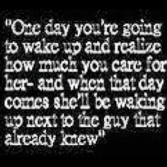 You don't know what you have...