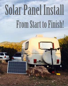 Solar panel install - from start to finish!