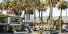 """A deux heures de Los Angeles la frénétique, Santa Barbara mérite bien son surnom d'""""American Riviera"""". Entre maisons blanches et patios ombragés, la ville universitaire connaît un renouveau culinaire et architectural."""