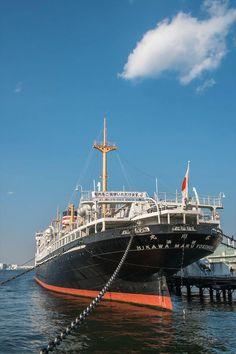 横浜(Yokohama)#018 氷川丸(Hikawa-Maru)