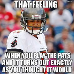 You're not the first to have that feeling, Josh - it's familiar in Foxboro #Patriots