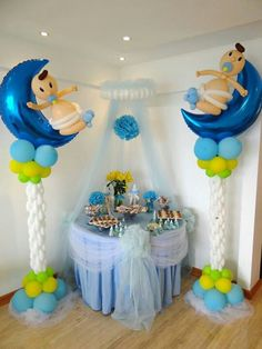 1000 images about boy baby shower on pinterest boy baby - Organizar baby shower nino ...