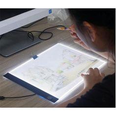 Svítící LED deska na obkreslování | DárkyHry.cz Boost Creativity, Lights Artist, Led Light Box, Light Board, Resin Uses, How To Write Calligraphy, Drawing Tablet, Gifts For An Artist, Cross Stitch Pictures