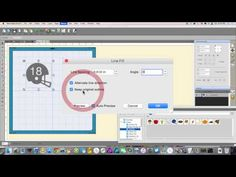 Sure Cuts A Lot 4: Line Fill & Knockout the Setup for Engraving - YouTube