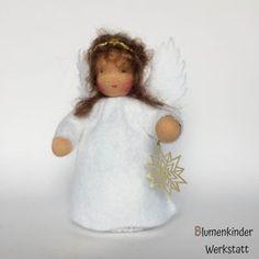 Fertige Blumenkinder zum Sofortkauf -Weihnachten- - I.Da-Puppen Blumenkinderwerkstatt