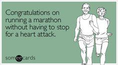 Marathon congratulations goes out to my boy for finishing the MCM in 2011 <3