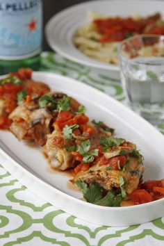 Chicken Cacciatore and  a Le Creuset Giveaway @Paula - bell'alimento