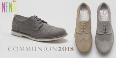 NENS BOYS COMMUNION 2018 NENS brogues are perfect for communion. If your little one wants to stand out on that special day, this is without any doubt, your model! #nens #brogues #communion