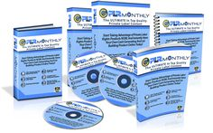 Get a new awesome Private Label Rights (PLR) Product to sell every month. Just click on the image.