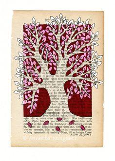 Árbol - ilustración original.