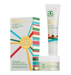 Arbonne Tahitian Coconut Lip Therapy Set is AMAZING! My lips are constantly chapped and this stuff is so soothing!