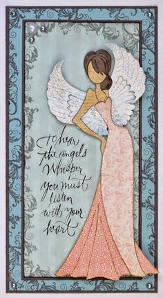 ARTful Wings: Sunday Stamper - Lily the Pink