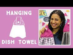Crafty Gemini Creates - Hanging Kitchen Towel