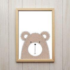 Kunstdrucke machen sich auch im Kinderzimmer besonders gut! #kunstdruck #kinderzimmer #wandgestaltung #bild