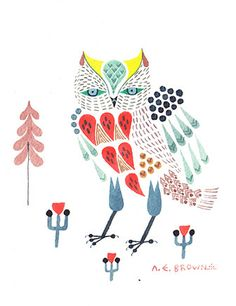 cool owl.