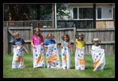 Family sports day - what a fun idea!!