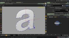 This tutorial will explain how to animate the profiles of text generated with the Font SOP. Each letter will be broken into multiple lines by removing the corners, and then each line is stretch outwards in the direction each is pointing. The lines are then animated to reveal the letter's profile as a motion graphics effect.  The manipulation of the line