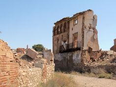 Belchite Viejo. Zaragoza