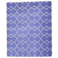 Kangri Cotton Rug-Placid Blue #livingroom #diy #handmade #best #cleaning #modern #design #runner #print #carpet #rugs #flooring #office #home #decoration #bedroom